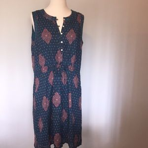 lucky brand sleeveless dress size M